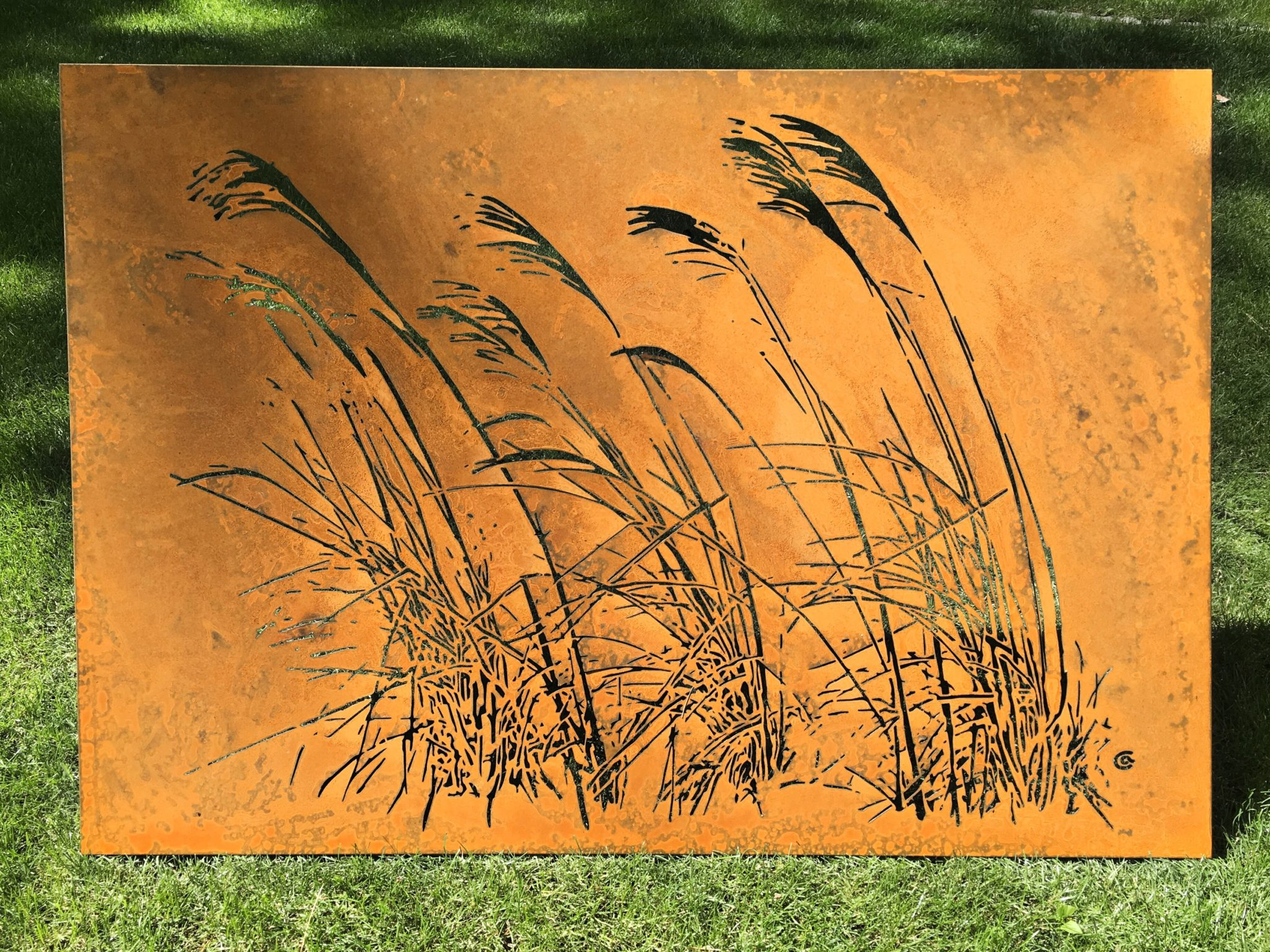 Obraz-z-metalu-trawy_1