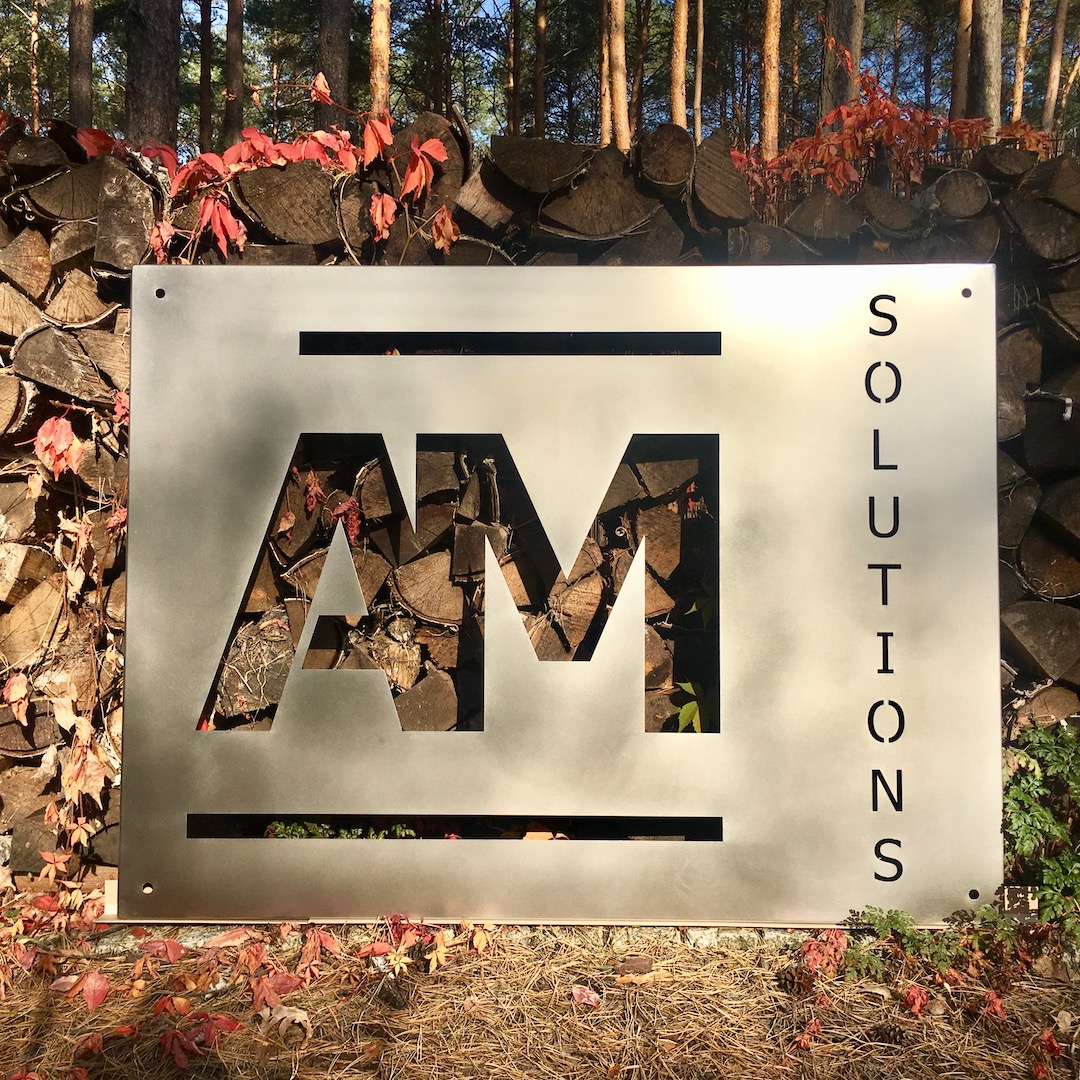 Szyld logo AMSolutions_3