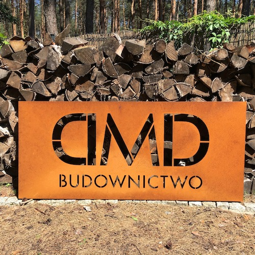 Company signboard DMD
