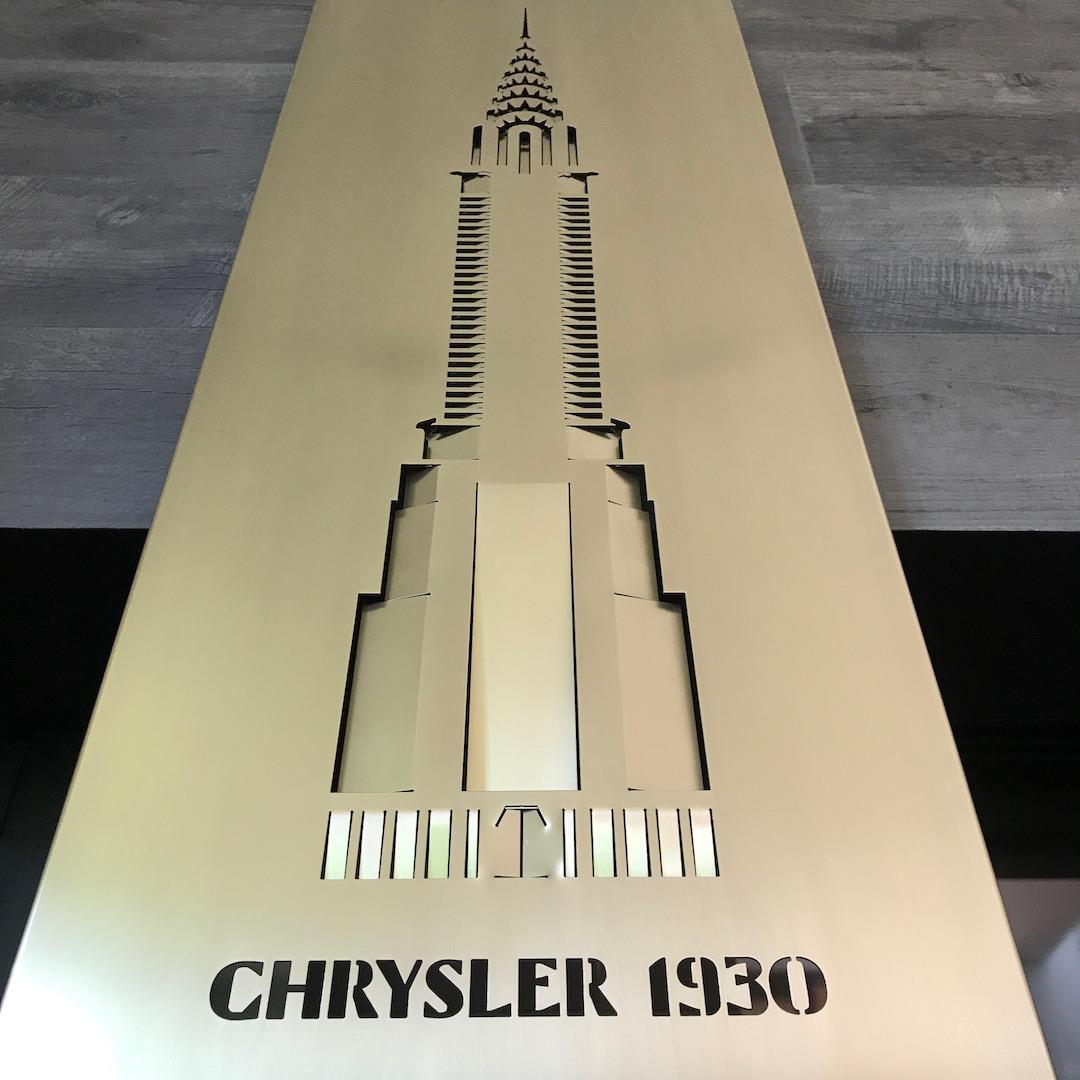 Obraz metalowy na ścianę Chrysler_2