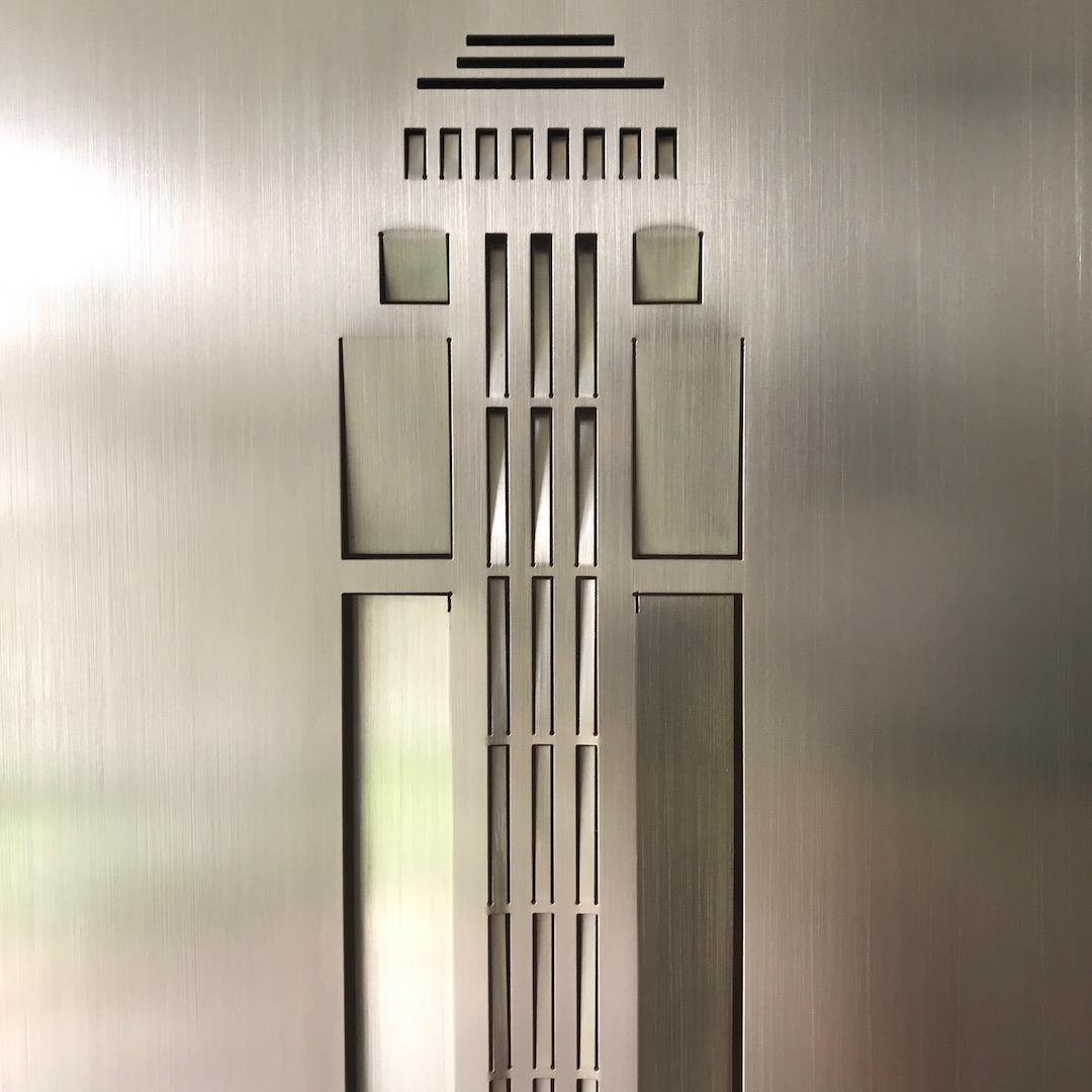 Obraz metalowy na ścianę Empire State_2