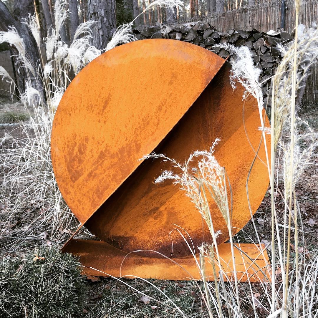 Rzeźba ogrodowa geometria_1