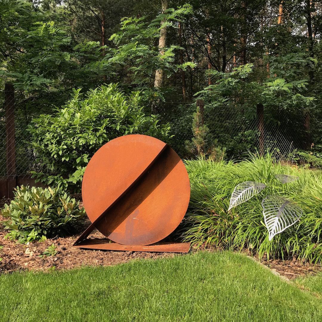 Rzeźba ogrodowa geometria_5