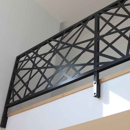 Custom railing panels