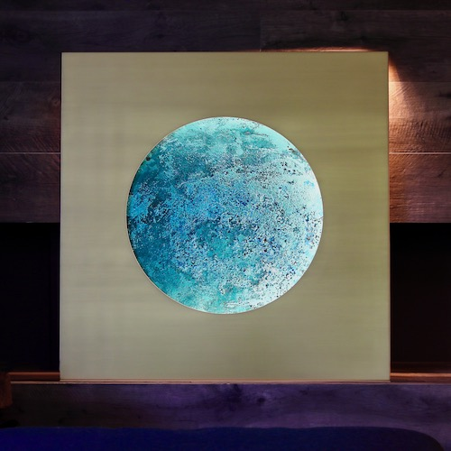 Earth – artwork from brass and copper