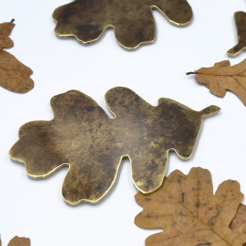 podkladki pod kubek lisc debu